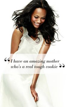 Zoe Saldana speaks out about her mother