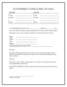 blank-bill-of-sale-form.jpg - bill of sale forms | Humor Me ...