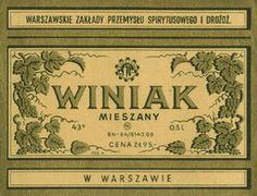 Winiak #Polish #Warsaw #Koneser #Label