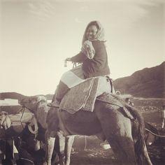 Camel Ride  Morocco  December 2013