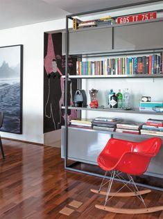Apartamento Simpatia / SAO Arquitetura #estante