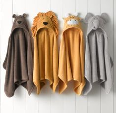 Animal Hooded Towel - Newborn | Hooded Towels | Restoration Hardware Baby & Child
