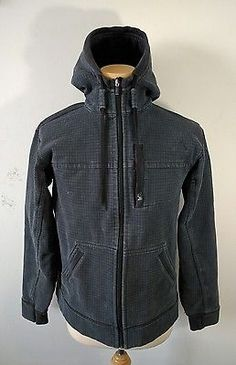 Mens Lululemon Scuba Core Hoodie XL Black Sweater Jacket 25.5 ...