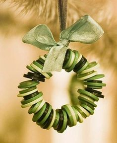 Wreath of Buttons