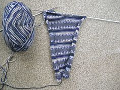 Ravelry: Easy Two Needle Socks pattern by Audrey Ritchie