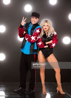 VANILLA ICE, WITNEY CARSON - The stars grace the ballroom floor for the first time on live national television with their professional partners during the two-hour season premiere of 'Dancing with the Stars,' which airs MONDAY, SEPTEMBER 12 (8:00-10:01 p.m., ET) on the ABC Television Network.