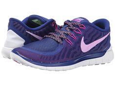 Nike Free 5.0 Persian Violet/Aluminum/Fuchsia Glow/Black - Zappos.com Free Shipping BOTH Ways