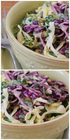 This Spicy Mexican Slaw with Lime and Cilantro is a recipe I've probably made close to 100 times since I first tried it back in 2008!  If you like these ingredients, I promise you will love this amazing low-carb recipe.  [from KalynsKitchen.com]