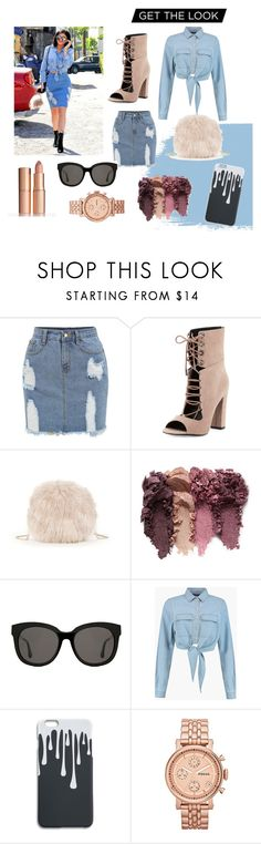 """""""Kylie"""" by juliesvankjaer on Polyvore featuring Kendall + Kylie, Sole Society, Gentle Monster, Boohoo and FOSSIL"""