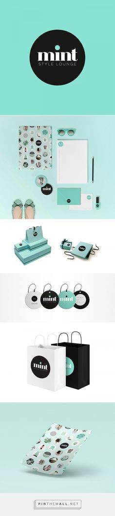 Mint Fashion Branding by Carmen Virginia Grisolía | Fivestar Branding Agency – Design and Branding Agency