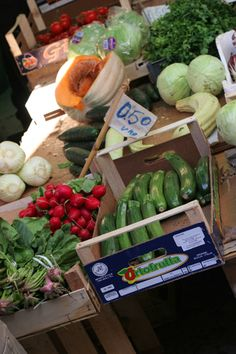 all veg at the market