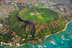 Diamond Head Crater, Oahu, Hawaii