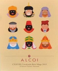 La Cabalgata de Reyes de Alcoy es la más antigua del mundo. Aquí os doy unas cuantas pistas de cómo llegan los Reyes en mi ciudad natal http://elpachinko.com/alcoy/cabalgata-reyes-magos-alcoy/