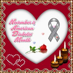 November WDD awareness that's close to many hearts. wow this is an eye catcher. Diabetes Awareness, Cure Diabetes, Type 1 Diabetes, Can Safe, Blue Friday, Awareness Ribbons, To My Daughter, The Cure, Hugs
