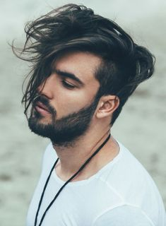 Long mens hairstyle 2017. 33 of the trendiest and best men's hairstyles and haircuts. Includes short, medium, long, mixed, curly, undercut, sidepart, manbun, as well as Asian, thick, messy hair, and much more.