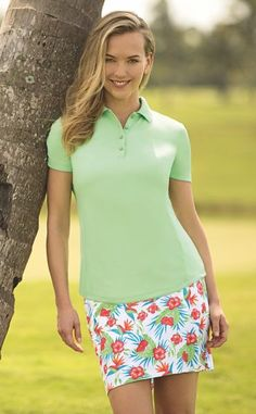 Loris' Golf Shoppe is the place to find the latest in women's golf apparel. Browse through our extensive selection of ladies' golf apparel online today! Golf Attire, Golf Outfit, Best Golf Clubs, Golfer, Perfect Golf, Womens Golf Shoes, Shoes Women, Shorty, Golf Accessories