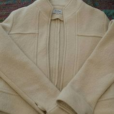 Neiman Marcus short off white jacket Short jacket in great condition.  Dress up or down.  Looks great with most anything. Neiman Marcus Jackets & Coats