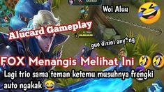 Alucard Midlane Gameplay!! Musuhnya Franco? Fox Menangis Melihat Ini - A... Alucard Mobile Legends, Fox, Comic Books, Comics, Youtube, Cartoons, Cartoons, Comic, Foxes