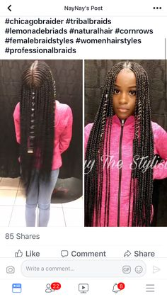 203 Best Braids Amp Feed Ins Images In 2019 Braids Hair