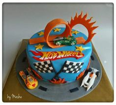 Hot Wheels Racing League: Hot Wheels Birthday Party Cakes