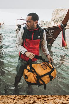 Our Basecamp Duffel is reliably designed for any adventure. Dope Jackets, The North Face, Outdoor Wear, Never Stop Exploring, Vans Sneakers, Sneaker Brands, Adventure, Studio Studio, Design Boards
