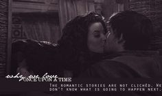 The romance stories are not clichèd. We don't know what is going to happen next.