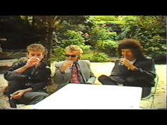 Queen interview, images of Freddie