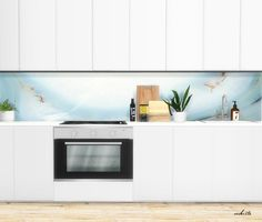 // Kitchen Panels by viikiita.rar    you get is 30 kitchen panels. Mesh by mxims is included.
