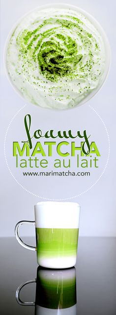 Foamy and creamy Matcha Milk latte! The earthy tints from the Matcha pair so well with the creamy milk! This is a must try! #Matcha #matchagreentea #greentea #tea #teatime #recipe #recipes #latte #cafe #cafeaulait #creamy #antioxidants #healthy