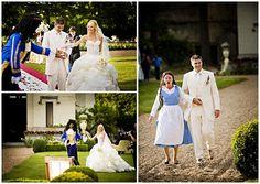 Beauty & the Beast Wedding - Chateau Challain