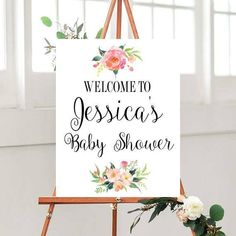Baby Shower Sign, Printable Baby Shower, Customized Baby Shower, Custom Quote Sign, Printable sign