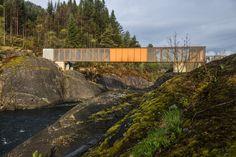 Høse Bridge / Rintala Eggertsson Architects Well integrated in the landscape