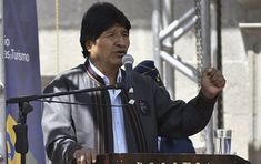Evo Morales llega a Venezuela para participar en la cumbre del ALBA