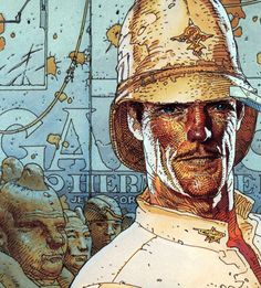 Jean Giraud (Moebius) - The Airtight Garage. Why hasn't this story been made into a film?