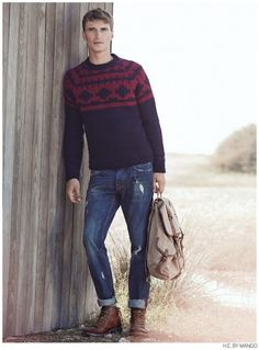 Clément Chabernaud Casual Winter 2014 Styles for H.E. by Mango