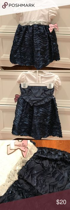 Nannette Baby Girl Dress and bloomers 6-9m Nannette Baby Girl Dress and bloomers 6-9m new with tags. Paid $38 Nannette Dresses