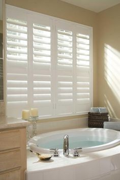 Plantation Shutters - bathroom!!!!