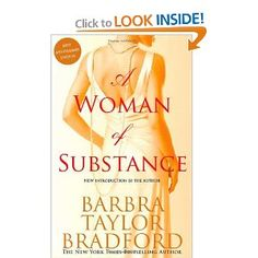 Barbara Taylor Bradford: A Woman of Substance.  The First book of the Emma Harte Saga. Barbara Taylor Bradford, Books To Read Before You Die, Book Stands, Good Books, I Love Books, Book Club Books, My Books, Amazing Books, Book 1