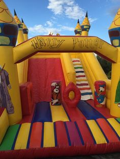 Portplay Magical Slide-Jumping castle Cover