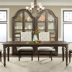 Verona Leg Dining Table I Riverside Furniture