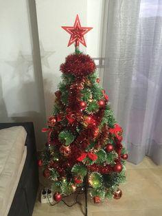 Árbol navideño, ya ha llego la navidad a mi casa.