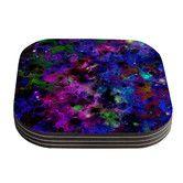 $26 - AllModern.com - Color Me Floral Celestial Coasters
