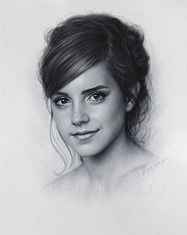 Drawing Realistic Pencil Portrait Mastery - Emma Watson drawing portrait by DRY BRUSH by Drawing-Portraits. -- and this is really awesome though - Discover The Secrets Of Drawing Realistic Pencil Portraits Portrait Sketches, Pencil Portrait, Portrait Art, Art Sketches, Drawing Portraits, Realistic Pencil Drawings, Amazing Drawings, Cool Drawings, Celebrity Drawings