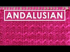 This vintage Andalusian Knit Stitch Pattern is a sweet little update of the Stockinette Stitch. In a 4-row repeat, we simply knit and purl on one of the rows, creating a little bit of texture and visual interest.Get free knitting pattern, chart, and video tutorial by Studio Knit.