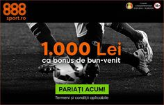 Promotii si bonusuri atractive la 888sport.ro - Tipzor