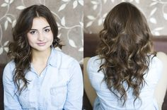 Curl hair in different directions for added volume. | 15 Noncommittal Ways To Change Your Hair