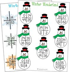 In these 2 subtraction games for 2 players, players must draw two cards and subtract the smaller number from the larger. Regrouping may be required for some equations.