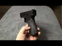 How to get a Glock slide off when the trigger is stuck forward