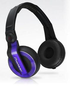 Gadget Show offer £59! Pioneer HDJ 500 Violet Headphone Performance DJ