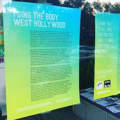 You can pick up a #free poster of the #WeHo citywide collaborative poem from @wehocity hall #weholibrary @wehochamber or @booksoup #nationalpoetrymonth